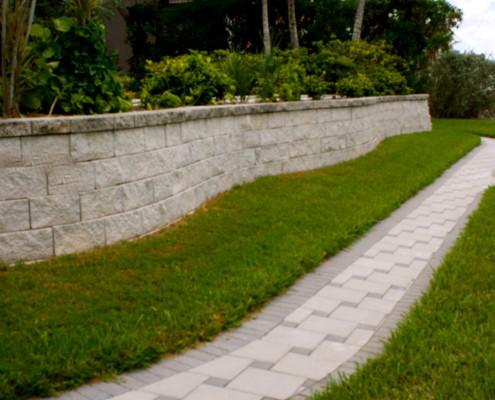 Narrow Informal Walkway