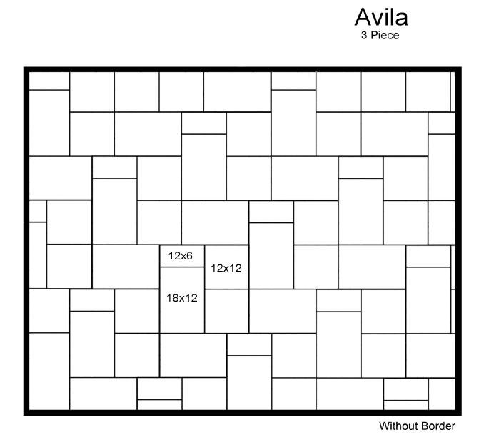 AVILA 3 PIECE