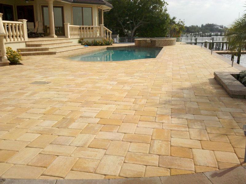 Brick Paver Pool Patios And Decks Five Star Brick Pavers