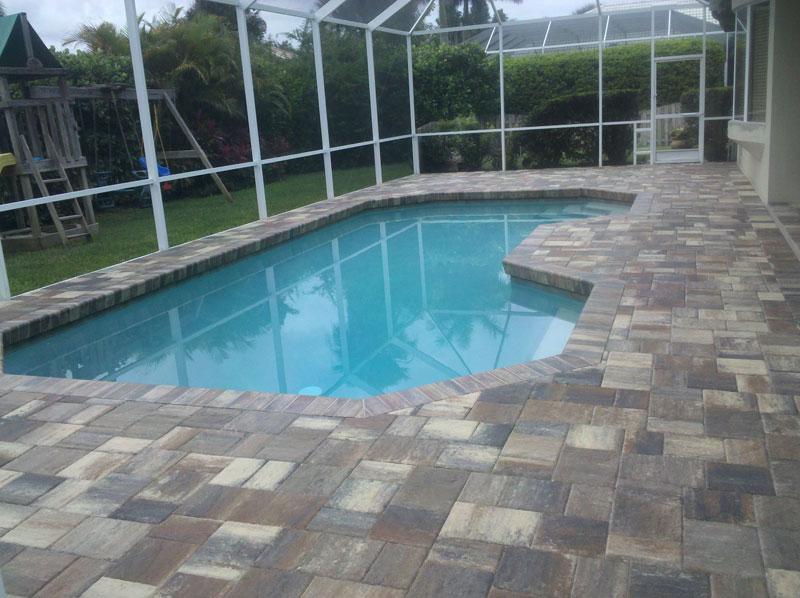 Charming Brick Paver Pool Patio 1 Brick Paver Pool Patio 2 ...