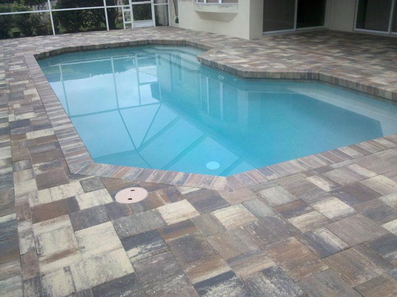 Brick Paver Pool Patio 1 ...